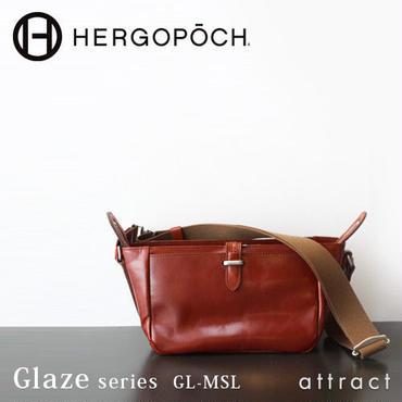 HERGOPOCH エルゴポック Glaze グレイズ Glazed Leather グレイズドレザー ミニショルダー GL-MSL