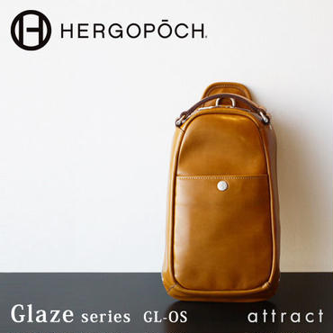 HERGOPOCH エルゴポック Glaze グレイズ Glazed Leather グレイズドレザー ワンショルダーバッグ GL-OS