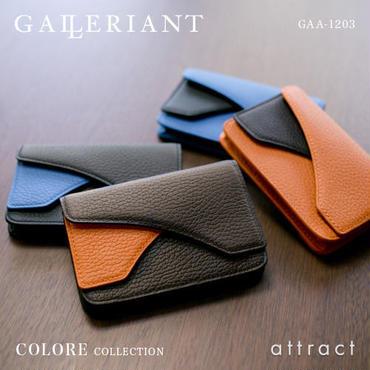 GALLERIANT ガレリアント COLORE コローレ カードケース 名刺入れ GAA-1203