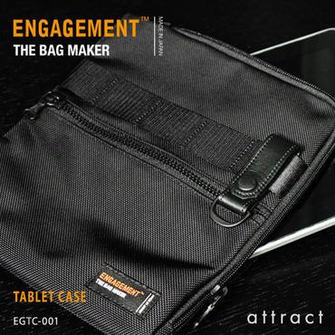 ENGAGEMENT エンゲージメント Engaged Nylon エンゲージド・ナイロン タブレットケース iPad対応サイズ  EGTC-001