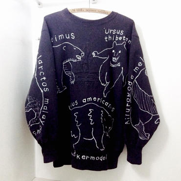 【on champion】OMA overdrawing トレーナー|sweatshirt 40 satisfaction 「熊|bear」