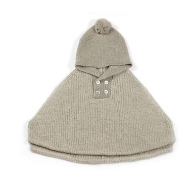 Baby Alpaga アルパカ100%ケープ (13167)