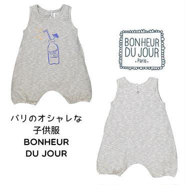 BONHEUR DU JOUR パリの子供服 ベビーロンパース(17011)