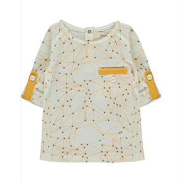 BLUNE 星柄長袖Tシャツ(16028)