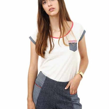 BLUNE 親子おそろいレディースTシャツ (15126)