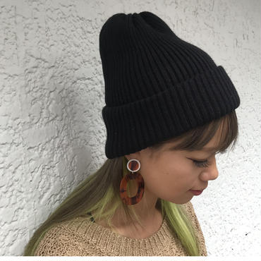 simpleニット帽