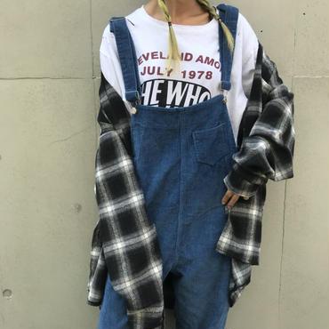 タータンBIGシャツ「たーくん」❝Autumn❞