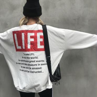 ビッグスウェット「LIFE」