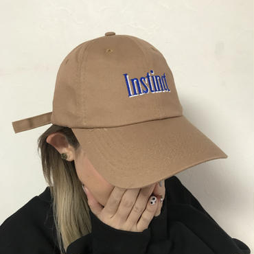 「Instinct」キャップ
