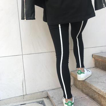うしろLINEストレッチpants