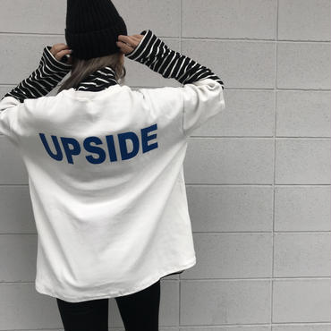 ソフト生地Tシャツ「UP SIDE」
