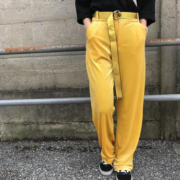 YELLOWベロアパンツ【¥4,590→¥986】