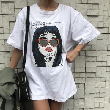 女の子Tシャツ「PIZZA」