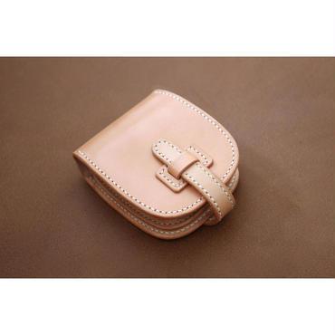 本革サドルレザーのショート財布【フラップ】