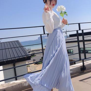 【春の新作】Like an angel Skirt【Sky Blue】