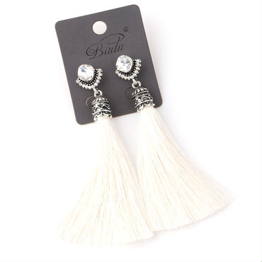 BADU handmade tassel earrings
