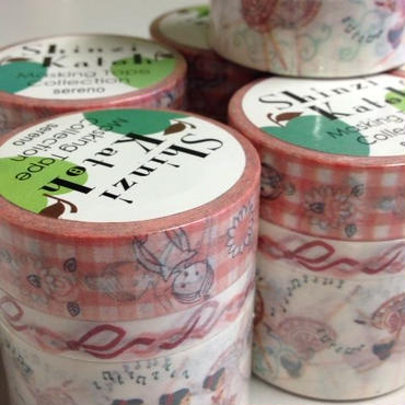 Shinzi Katoh Design マスキングテープ 3サイズセット