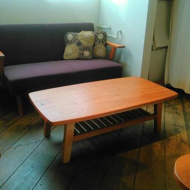 棚付きセンターテーブル 1100サイズ