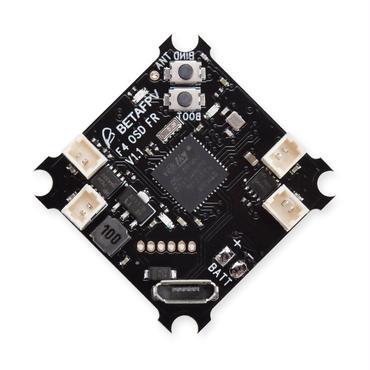 F4 Brushed Flight Controller (Frsky Rx + OSD) S-FHSS対応可