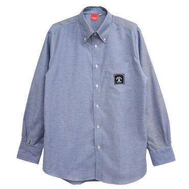 SQUARE LOGO OX SHIRTS (DENIM BLUE)