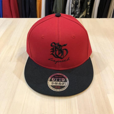 Banguard&Lefdeep snapback(BLACK/RED)