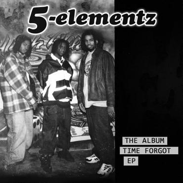"5ELA (5 ELEMENTZ) THE ALBUM TIME FORGOT EP ""CD"""