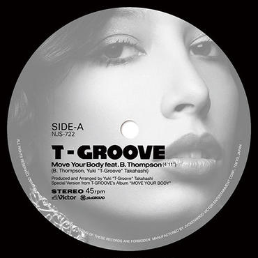 t-groove/Move Your Body feat. B.Thompson / Roller Skate feat. Precious Lo's 7inch