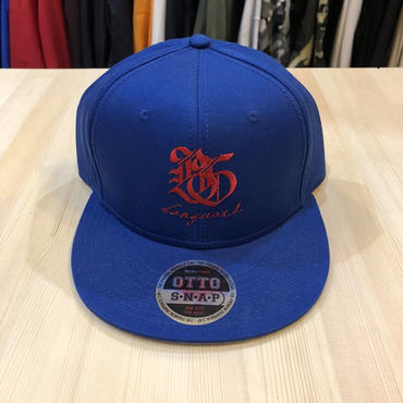 Banguard&Lefdeep snapback(BLUE)