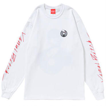 VINYL BITCH NAIL&VINYL L/S tee (WHITE&BLACK)