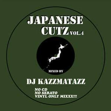 DJ KAZZMATAZZ - JAPANESE CUTZ VOL.4 [MIX CD]