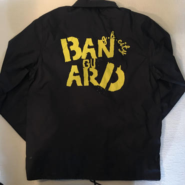 Banguard&Hooliganz Coach Jacket(navy&yellow)