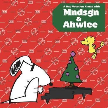 "MNDSGN & AHWLEE A RAP VACATION X-MAS ""LP"""