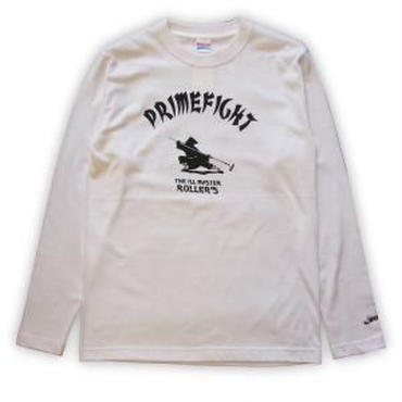 ROLLERS /PRIMEFIGHT L/S Tee . WHITE