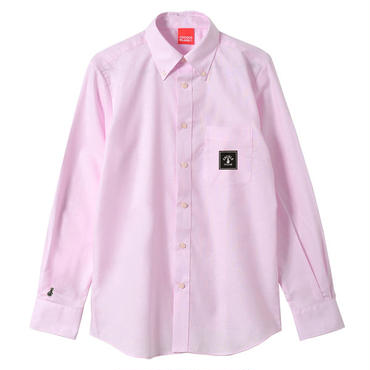 SQUARE LOGO OX SHIRTS (PINK)