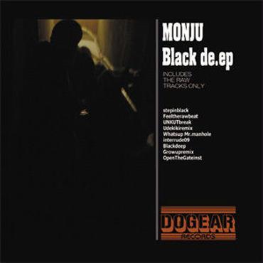 MONJU - BLACK DE.EP [CD]