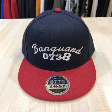 Banguard snapback(NAVY/RED)