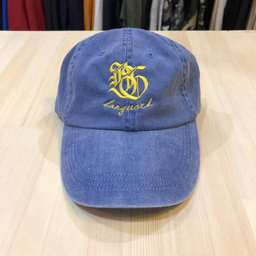 Lef deep×Banguard 6panel cap(blue)
