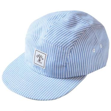 SQUARE LOGO STRIPE 5PANELS CAP