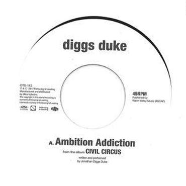 Diggs Duke/Ambition Addiction/Welcome -Japan Only 7inch