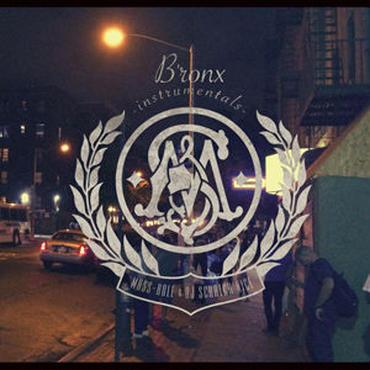 MASS-HOLE & DJ SCRATCH NICE/B'ronx instrumentals -LP-