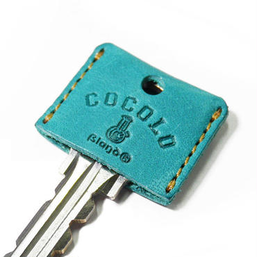 LEATHER BONG KEY COVER(PASTEL BLUE)