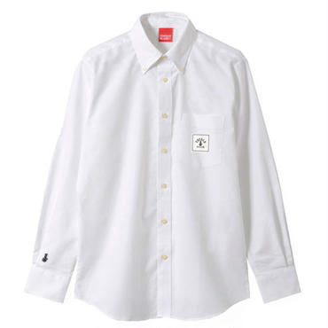 SQUARE LOGO OX SHIRTS (WHITE)