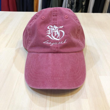 Lef deep×Banguard 6panel cap(pink)