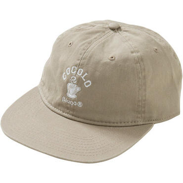HOT COFFEE 6PANELS CAP (BEIGE)