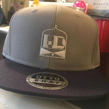 WD sounds snapback cap(navy&gray)