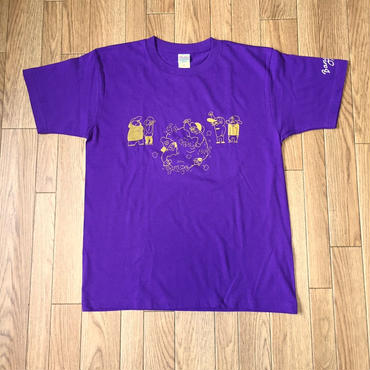 MC BATTLE tee(purple)