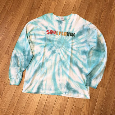 Soul Flower Logo Tye Dye Long Tee