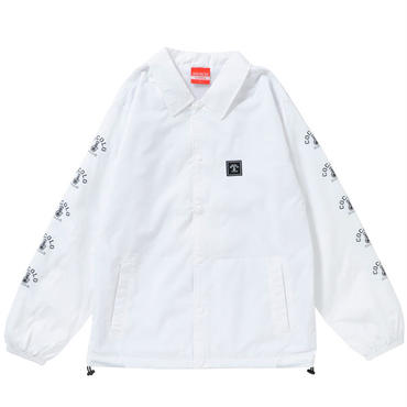 SLEEVE BONG COACH JACKET(WHITE&NAVY&RED&GREEN&BLACK)