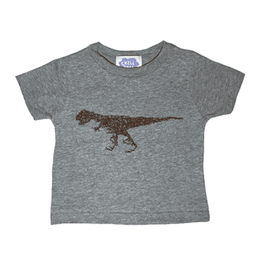 "CHILLSULL""Rex Tee""/GRAY(KIDS)"