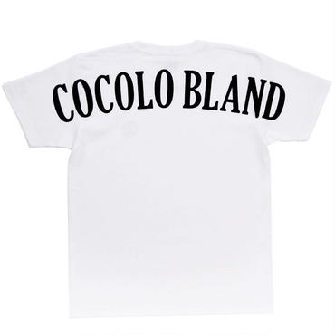 BACK LOGO HEAVY TEE (WHITE)